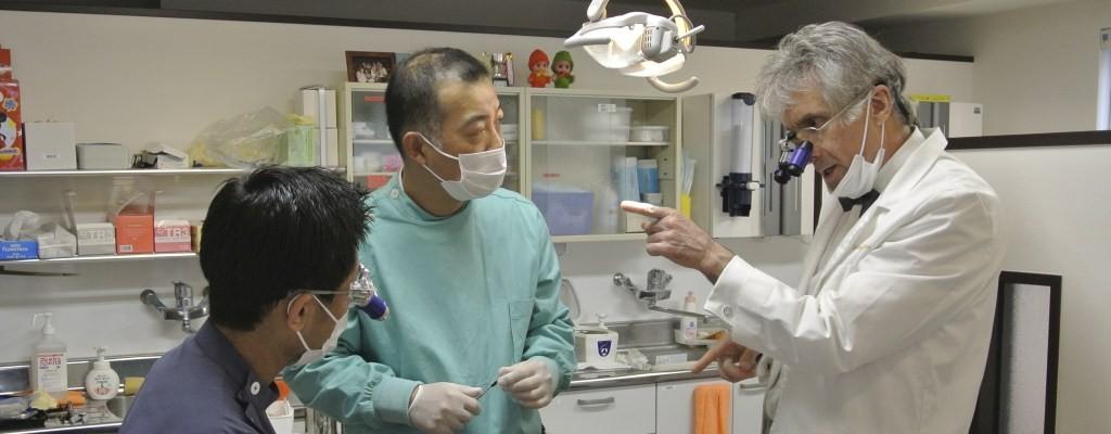 最高のむし歯治療は、最高の指導医によって受け継がれる
